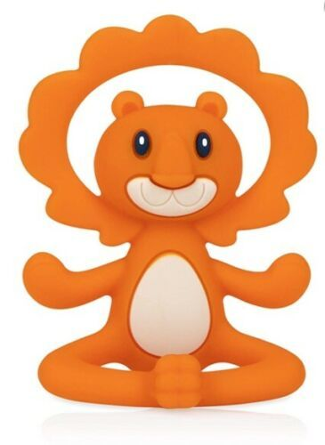 Primary image for Nuby ~ Yogi 100% Silicone Soothing Teether ~ Lion ~ New
