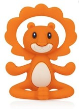 Nuby ~ Yogi 100% Silicone Soothing Teether ~ Lion ~ New - $12.96
