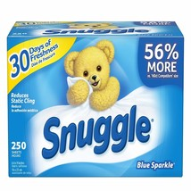 Snuggle Fabric Sheets, 250 ct. BRAND NEW - $18.44