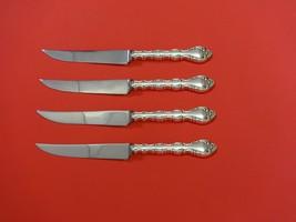 "Impresario by Oneida Sterling Silver Steak Knife Set 4pc HHWS  Custom 8 1/2"" - $247.10"