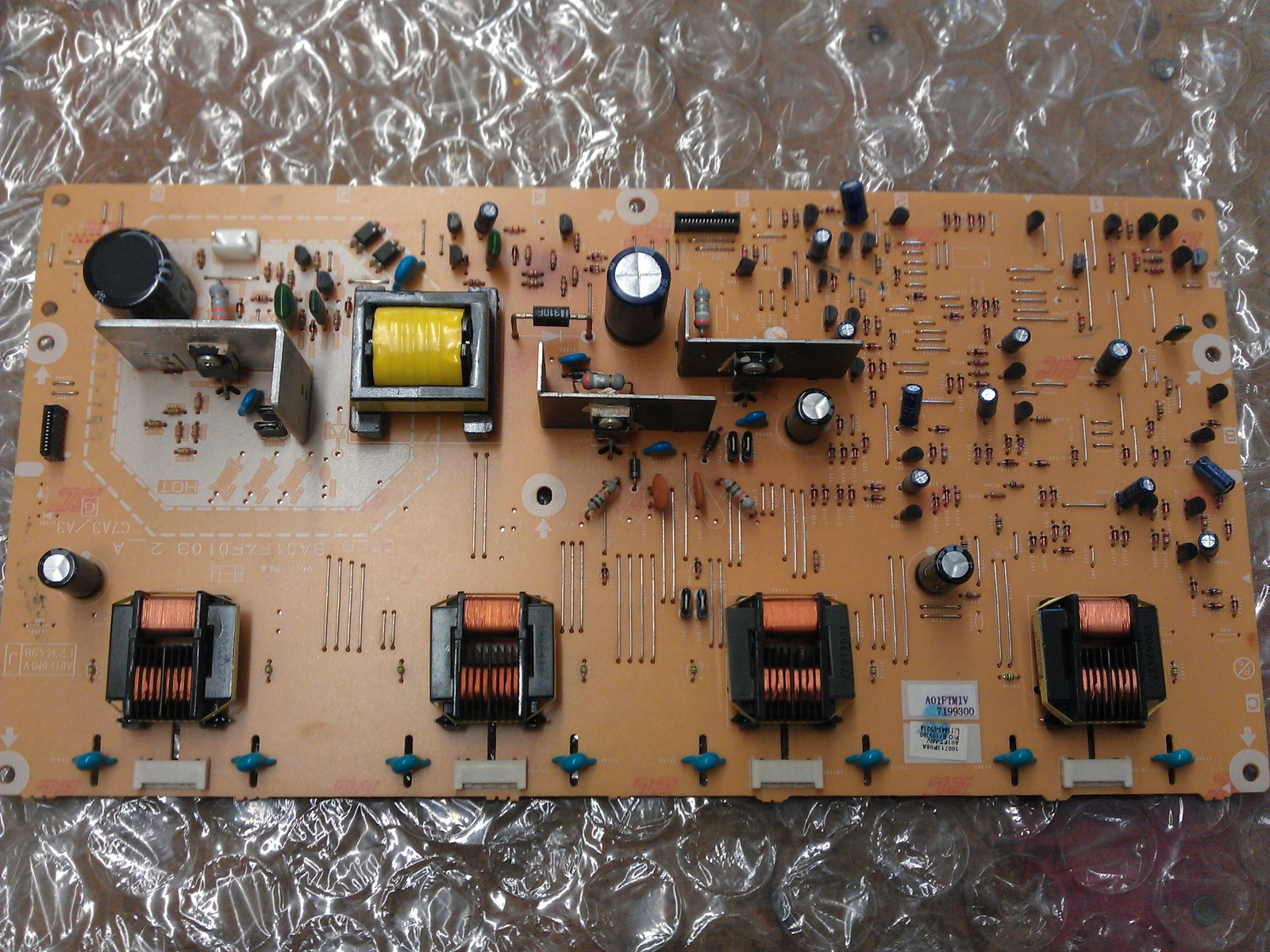 A01F0M1V-001-IV A01FTMIV Inverter CBA Board From Emerson LC320EM1 DS1 LCD TV