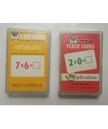 Whitman Help Yourself Multiplication Flash Cards Lot of 2 Decks #4572 (1... - $23.36
