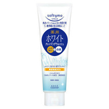 KOSE Softymo White Makeup Cleansing and Facial Foam 190g