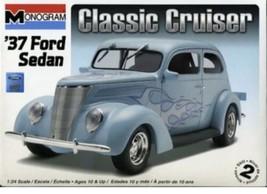 SEALED Monogram 1:24 '37 Ford Sedan Classic Cruiser Model Car Kit #85-0884 - $27.23