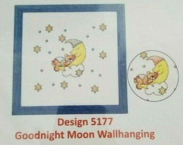 Goodnight Moon Wall Hanging Banner Duftin Counted Cross Stitch Kit 5177 ... - $9.99
