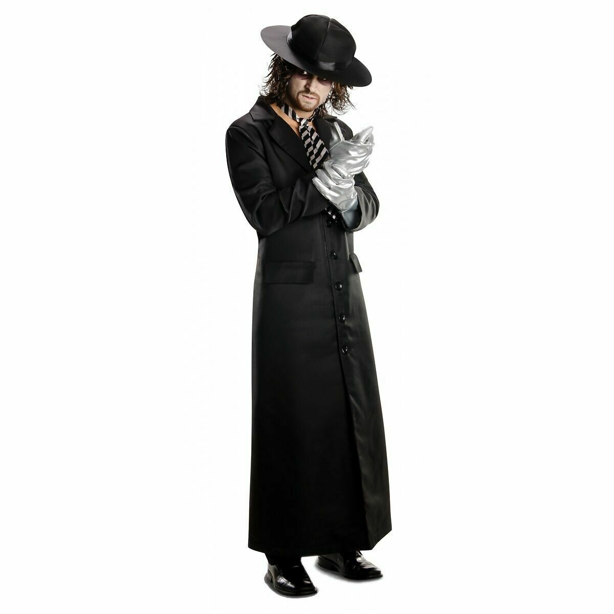 The Undertaker Deluxe Costume Adult WWE Wrestling Halloween Free Shippin Cosplay