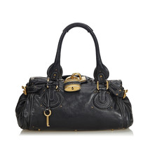 Pre-Loved Chloe Black Others Leather Paddington Handbag France - $340.34