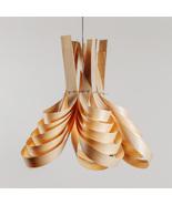 Radial chandelier, pendant light, wood, lamp, wood fixture, wood pendant - $439.00