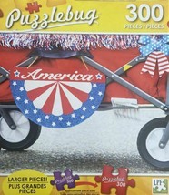4th of July America Parade Wagon Jigsaw Puzzle Larger 350 Pcs Patriotic New - $7.92