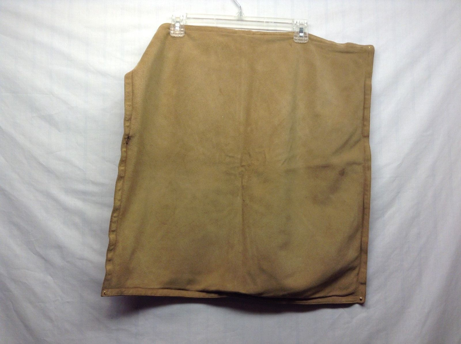 Banana Republic Brown Leather Zip-up Pillowcases Set of 2
