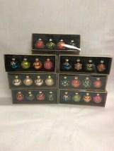 28 Christmas ornaments  xmas small NIB 2 inch Michaels Vintage unused mi... - $30.28