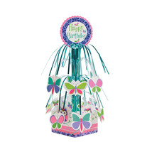 Owl Pal Birthday Mini Cascade Centerpiece with Base/Case of 6 - €31,50 EUR