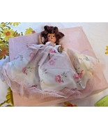 Vintage Eugenia Maid of Honor Bisque Doll with Original Box Auburn Mohair Hair - $39.19