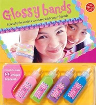Klutz Glossy Bands - Make Stretchy Bracelets - New with Accessories - $23.98