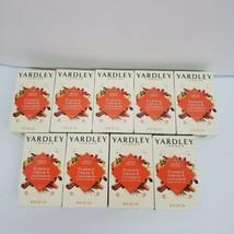 Lot of 9 YARDLEY Limited Edition Pumpkin Cream & Cinnamon w/Amyris Oil Bar Soap - $26.75