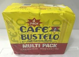 Pack of 4 Cafe Bustelo Espresso Ground Coffee 10 oz Brick Exp. 2/25/23