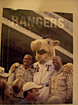 2005 TEXAS RANGERS OFFICIAL PROGRAM vs ANGELS * VETS ON COVER GUC - $8.48