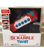 Electronic SCRABBLE TWIST Pass And Play Word Game - FUN Gift for Scrabbl... - $19.99