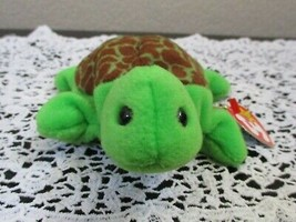 Ty Beanie Baby Speedy the Turtle 4th Generation Hang Tag PVC Filled NEW - $9.89