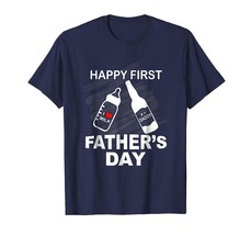 Dad Shirts - Happy First Father's Day T-Shirt Funny Dad Tee for Men Men - $19.95+