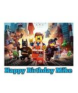 Lego Movie Image Photo Cake Topper Sheet Personalized Custom Customized ... - $9.99