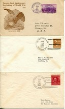 Marine US Army American Red Cross WWII Navy Military Cover Postage Collection image 2