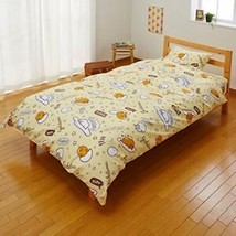 Sanrio Gudetama Bed Cover Pillow Case Bed Sheet set for Single Size Bed SB-313 - $66.19