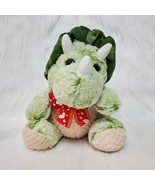 """10""""  Best Made Toys Baby Dinosaur Triceratops Green Plush Stuffed Toy B215 - $16.97"""