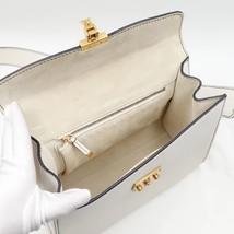 100% Authentic Christian Dior Addict Tote White Calfskin Bag GHW RARE image 9