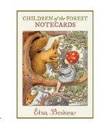 Elsa Beskow Children of the Forest Note Cards, NEW - $13.95