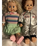 Working Playmates Cricket & Corky Doll Vintage 1986 - $96.75