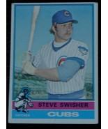 Steve Swisher, Cubs,  1976  #173 Topps Baseball Card, GOOD CONDITION - $2.96