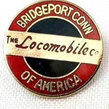 Locomobile Of America Co Car Lapel Hat Pin Emblem Logo Bridgeport Connec... - $27.87