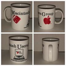 Vintage 80s 90s APPLE Macintosh Users Group CLEMSON TIGERS Coffee Cup Mu... - $234.95