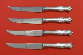 "Canterbury by Towle Sterling Silver Steak Knife Set 4pc HHWS  Custom 8 1/2"" - $409.00"