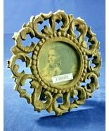 Pomeroy Mango Wood Carved Round Photo Frame - $44.99
