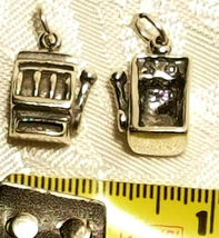 MUSIC DANCE HOBBIES STERLING SILVER CHARM .925 - HUGE SELECTION - YOU CHOOSE image 3