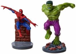 2 Piece Commemorative PVC Figurines Set - Secret Wars Spider-man & Hulk - $17.41