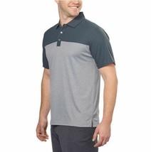 NEW Bollé Men's Colorblock Performance Polo, Dark Grey, Size L image 2