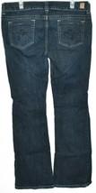 Guess Jeans Women's Daredevil Bootcut Dark Blue Stretch Denim Size 34 image 2