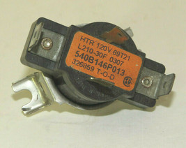 GE Dryer : Cycling Operating Thermostat (WE4M0181) {TF2345} - $19.79