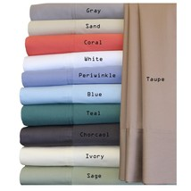 Luxury Bed Sheet Set-100% Bamboo Hybrid Cotton 300 Thread Count Sheet Set - $156.00