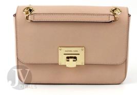Michael Kors Tina Medium Flap Leather Chain Shoulder Bag - $108.99