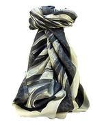 Mulberry Silk Contemporary Square Scarf Ita Black by Pashmina & Silk - $26.59
