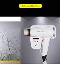 XZST New Type Hotel Bathroom And Home Wall Mount Hair Dryer Dry Skin Hanging Hai image 9