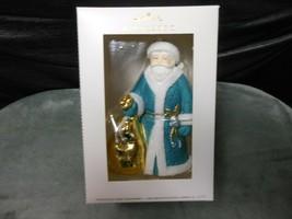 "Hallmark Signature ""Santa Claus - Joy To You"" Porcelain Ornament NEW - $21.73"