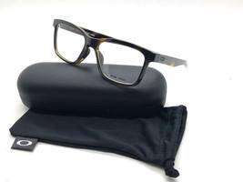 Oakley Fenceline 8069 0253 Polished Tortoise Eyeglass Frames Case 53 18 138 - $106.67