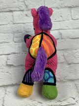 "BRITTO POPPLUSH Pink Corduroy POP ART Frida the HORSE Plush Stuffed Animal 11"" image 5"
