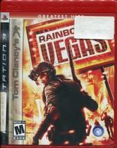 Tom Clancy's Rainbow Six: Vegas (Sony PlayStation 3, 2007) - Greatest Hits  - $2.96