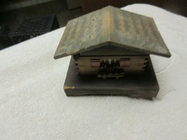 "Swiss Music Box , Wood , 41/2""X3""x4"" , Rare , Vintage , Collectible , An... - $25.00"